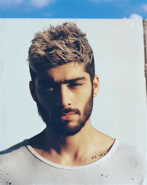 zayn malik s newest hairstyle in 2017