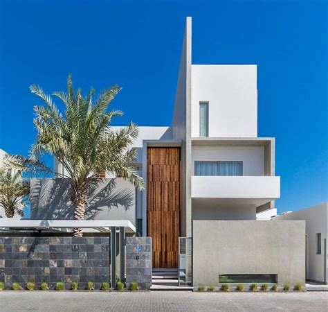 modern architect luxurious three level home exhibiting a complex modern architecture amwaj villa freshome com