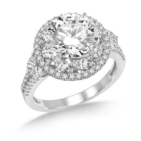 the perfect diamond engagement ring american gem society