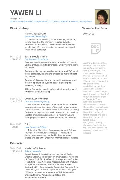 Market Research Resume by Marketing Research Resume Exles Exles Of Resumes
