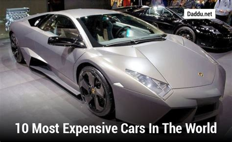 the most expensive in the world the most expensive car in the world the car database