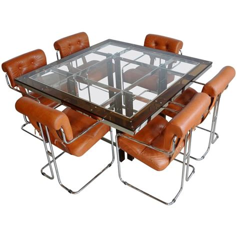 acrylic dining table and chairs leather tucroma chairs for pace and acrylic and
