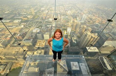 Second Floor Balcony by Visit The Skydeck Ledge Win 2 Passes To The Chicago Skydeck