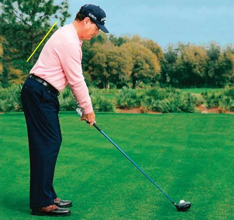 tom watson golf swing practice proper posture at work to improve your golf game