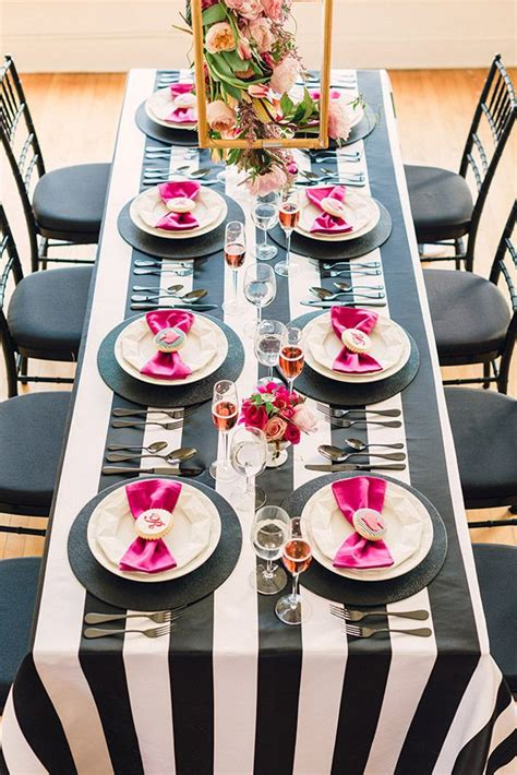 black and white bridal shower ideas kate spade bridal shower ideas galore b lovely events