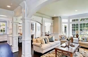 living room columns columns inside and outside the home 2015 interior design ideas