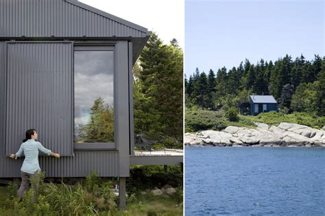 small self sustaining homes tiny grid cabin in maine is completely self sustaining