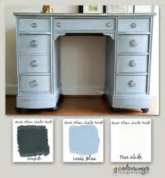How To Paint A Roll Top Desk Kneehole Desk Colorways With Leslie Stocker