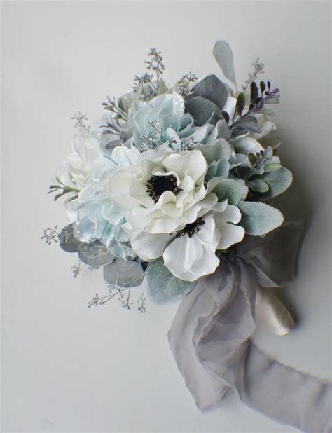 ready made bridal bouquets silk bouquet ready to ship winter bouquet