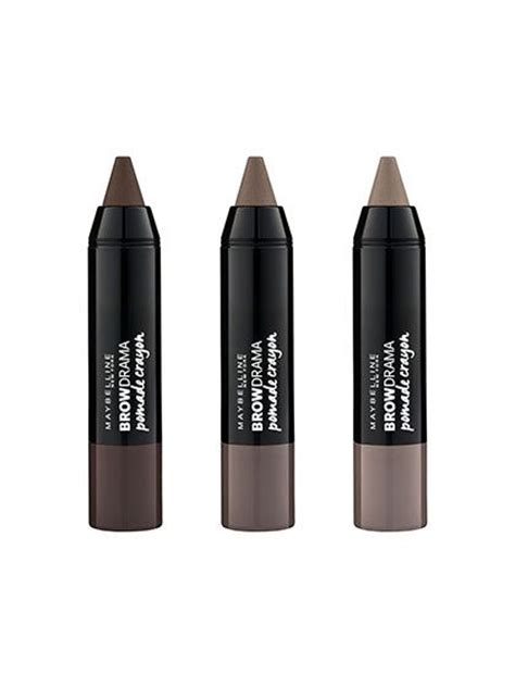 Maybelline Eyebrow Crayon product review of maybelline brow drama pomade crayon by