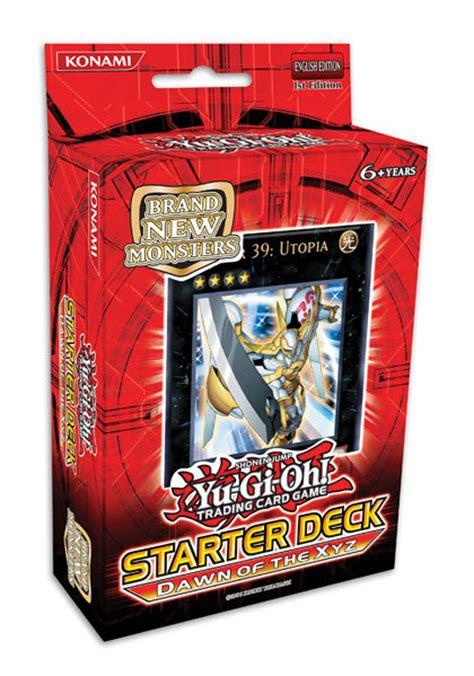 yu gi oh xyz deck yu gi oh tcg 2011 of the xyz starter deck at