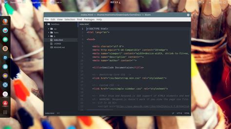 best linux distro for developers semicode os new linux distro for programmers and web