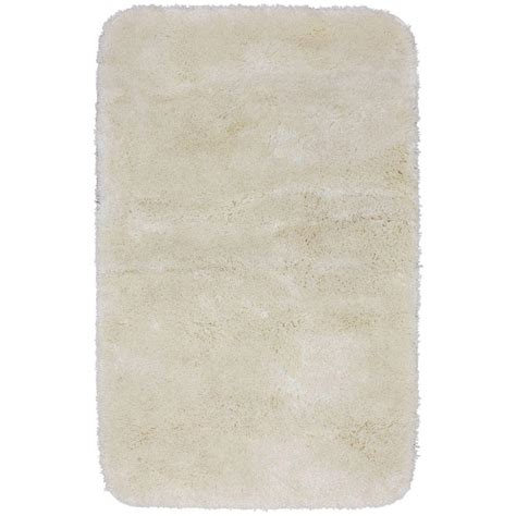 Mohawk Home Bath Rugs Mohawk Home Soft And Plush Ivory 30 In X 50 In Bath Rug 327766 The Home Depot