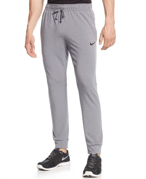 Jogger 34 Adidas Dryfit nike dri fit touch fleece joggers in gray for lyst