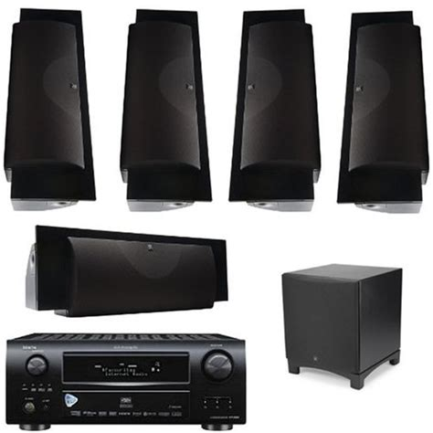 denon avr 3808 home theater bundle with martinlogan