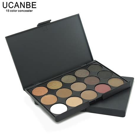 Inez Palette Eye Shadow 15 Colors Promo ucanbe brand new fashion 15 earth color matte pigment glitter eyeshadow palette cosmetic makeup