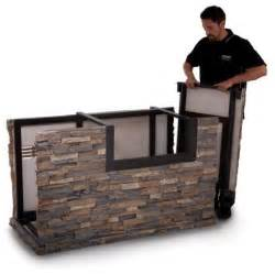 american outdoor grill 790 stack stone base with midnight
