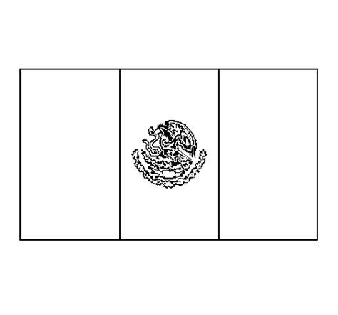 imagenes para colorear bandera de mexico bandera de mexico para colorear e imprimir