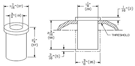 1 diameter floor leveler ives dp1 dust proof strike plate 1 7 16 quot diameter