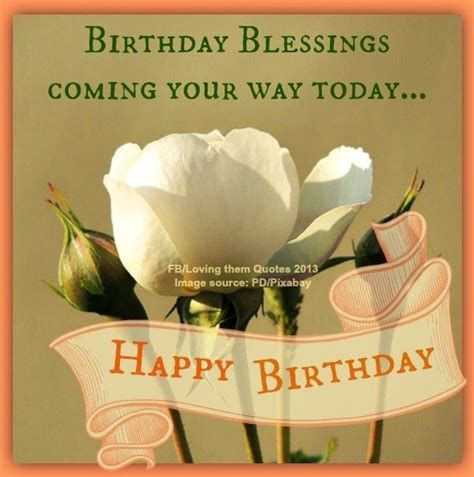 Happy Birthday Blessing Quotes Birthday Blessings Via Loving Them Quotes On Facebook