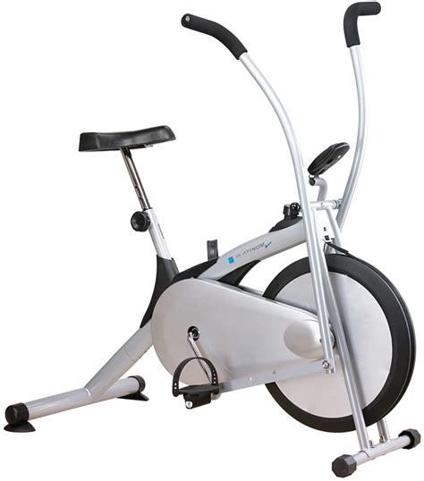 alat fitnes sepeda statis platinum bike alat olahraga murah larismu
