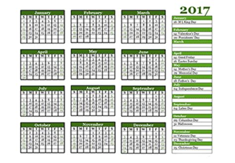 Yearly Calendar Template Drive 2017 Yearly Calendar Templates Free Printable