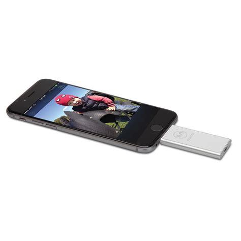 iphone photo storage the iphone photo storage expander hammacher schlemmer