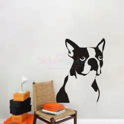 Dog Wall Stickers Boxer Dog Wall Decal Sticker