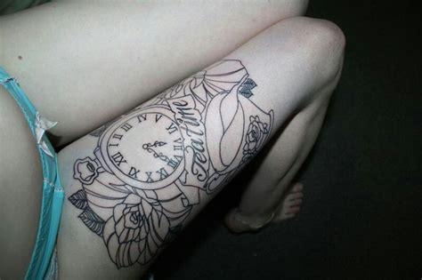 tattoo meaning time alice clock tattoo tattoos with meaning pinterest