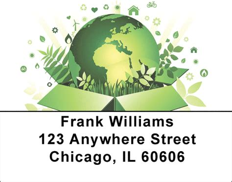 design for the environment label environment labels environmental address labels