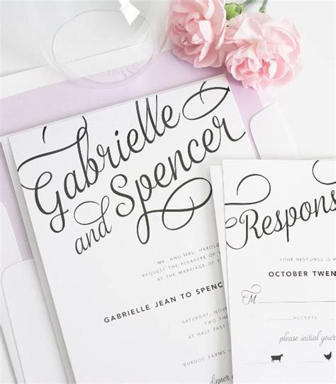 cool wedding invitation fonts statement script wedding invitations fonts invitations