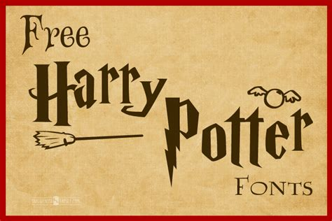 harry potter fonts free harry potter fonts harry potter font harry potter