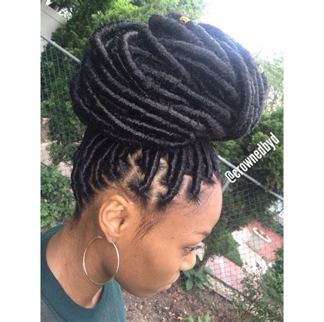 how to wear protective hairstyle on dreads 235 best images about faux locs dreads on pinterest