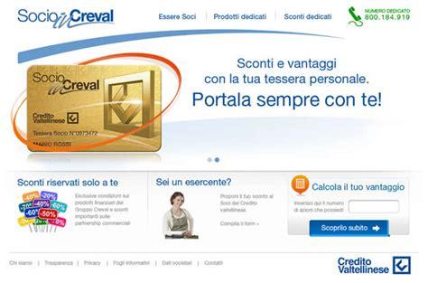 credito valtellinese on line socioincreval iniziativa per i soci credito