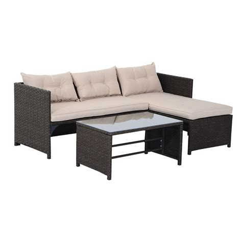 outdoor wicker sectional sofa set rattan sofa set rattan garden furniture home outdoor
