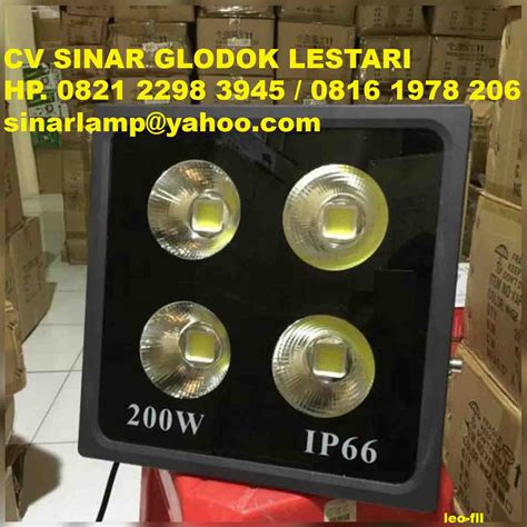 Lu Sorot Led 200 Watt lu sorot led gt 100w