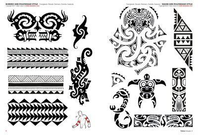tribal maor 237 y polinesios