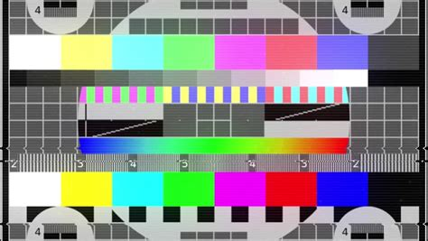 test pattern sound download tv static noise color bars bad signal stock footage video