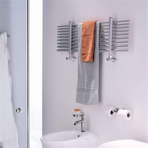 scaldasalviette elettrico per bagno scaldasalviette elettrico orizzontale selene made in italy