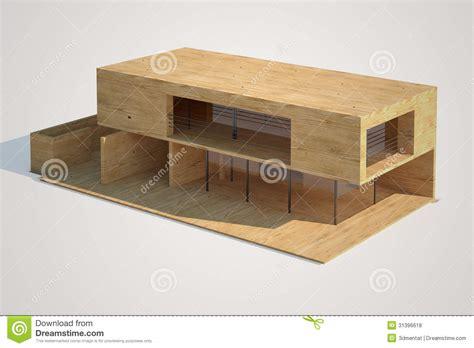 House Plans With Casitas maqueta moderna de la casa fotos de archivo libres de