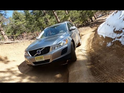 volvo xc  awd colorado mountain  road drive review youtube
