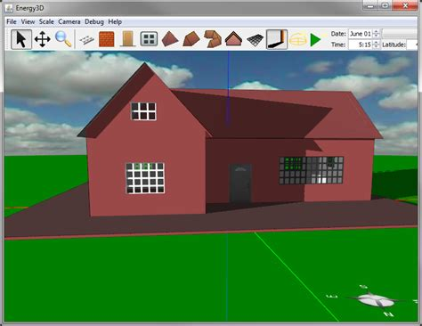 creat your own house design your own house with energy3d the concord consortium
