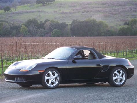 black porsche boxster convertible 1997 porsche boxster convertible black on black