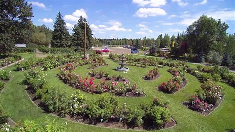 St Albert Botanical Gardens Botanic Park July 2016 St Albert Alberta