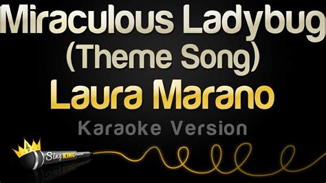 theme songs english laura marano miraculous ladybug theme song karaoke