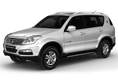 mahindra rexton car mahindra ssangyong rexton price in india review pics