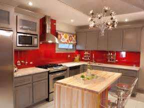 red kitchen paint pictures ideas amp tips from hgtv hgtv orange kitchen walls ideas quicua com