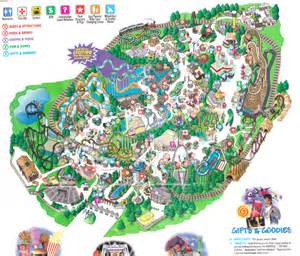 california s great america map index of parks pimages californias great america 1999