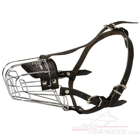 basket muzzle metal basket muzzle pictures to pin on pinsdaddy