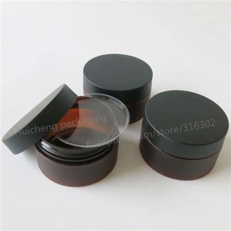 Kosmetik Jar 20 20 x 100 gram plastic jar with lid cosmetic jars empty